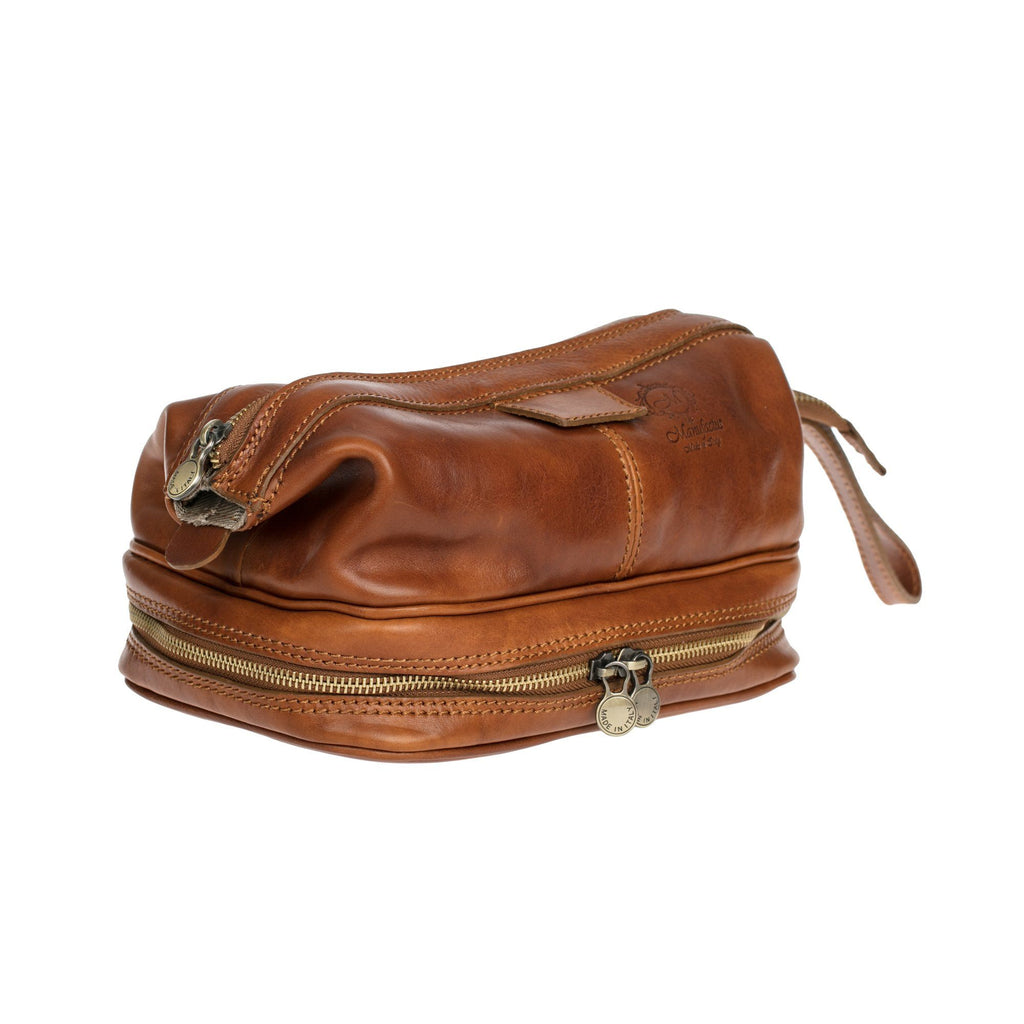 4062798ec2 Manufactus Magnum Leather Toiletry Case
