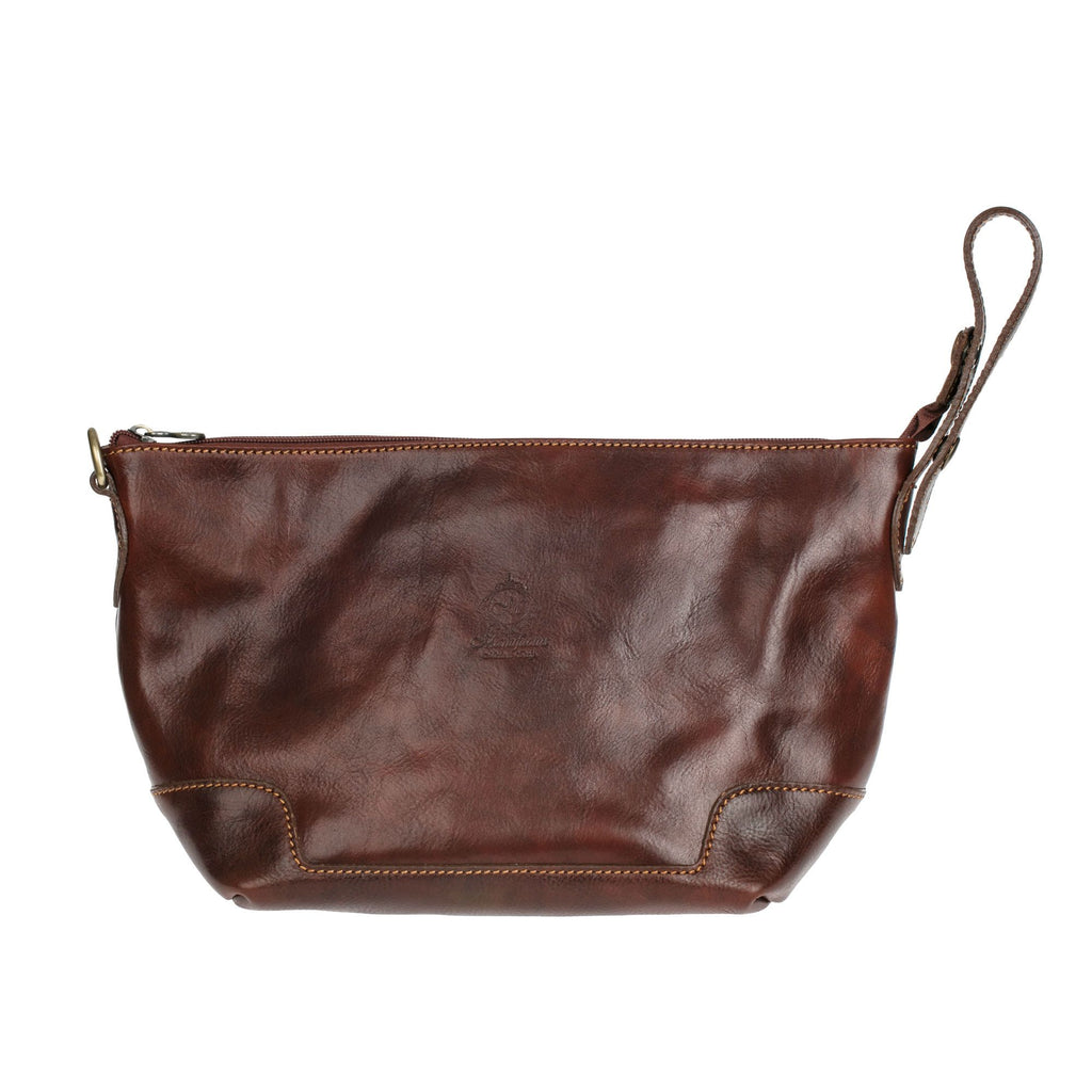 19b94d961e Manufactus Remo Leather Toiletry Bag