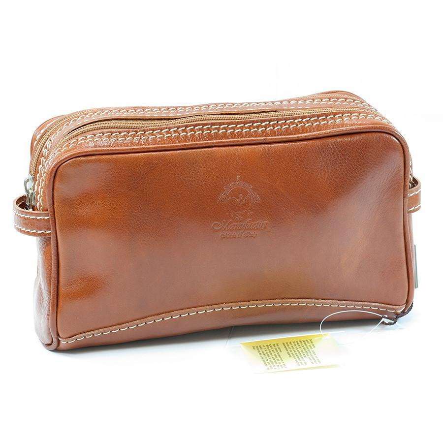 eece8451fa Manufactus Romolo Leather Toiletry Case — Fendrihan Canada