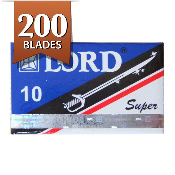 200 Lord Super Stainless Double-Edge Safety Razor Blades Razor Blades Other