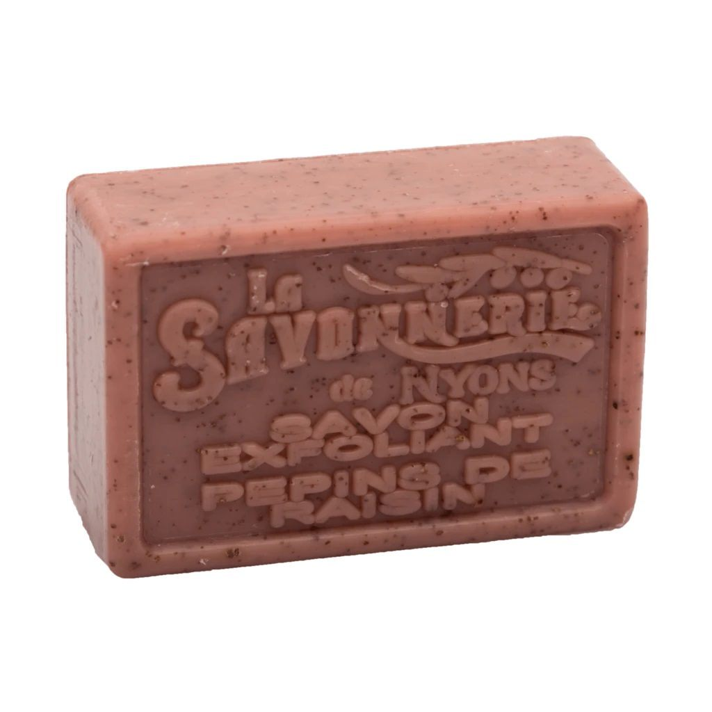 La Savonnerie de Nyons Exfoliating Soap Bar Body Soap La Savonnerie de Nyons Grape Seed (Pepin de Raisin)