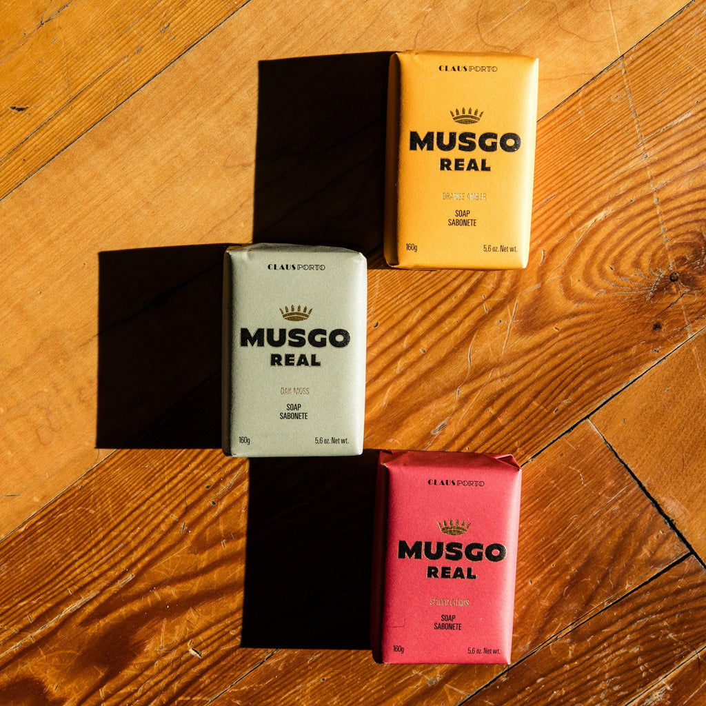 Musgo Real Men's Body Soap, Oak Moss Body Soap Musgo Real