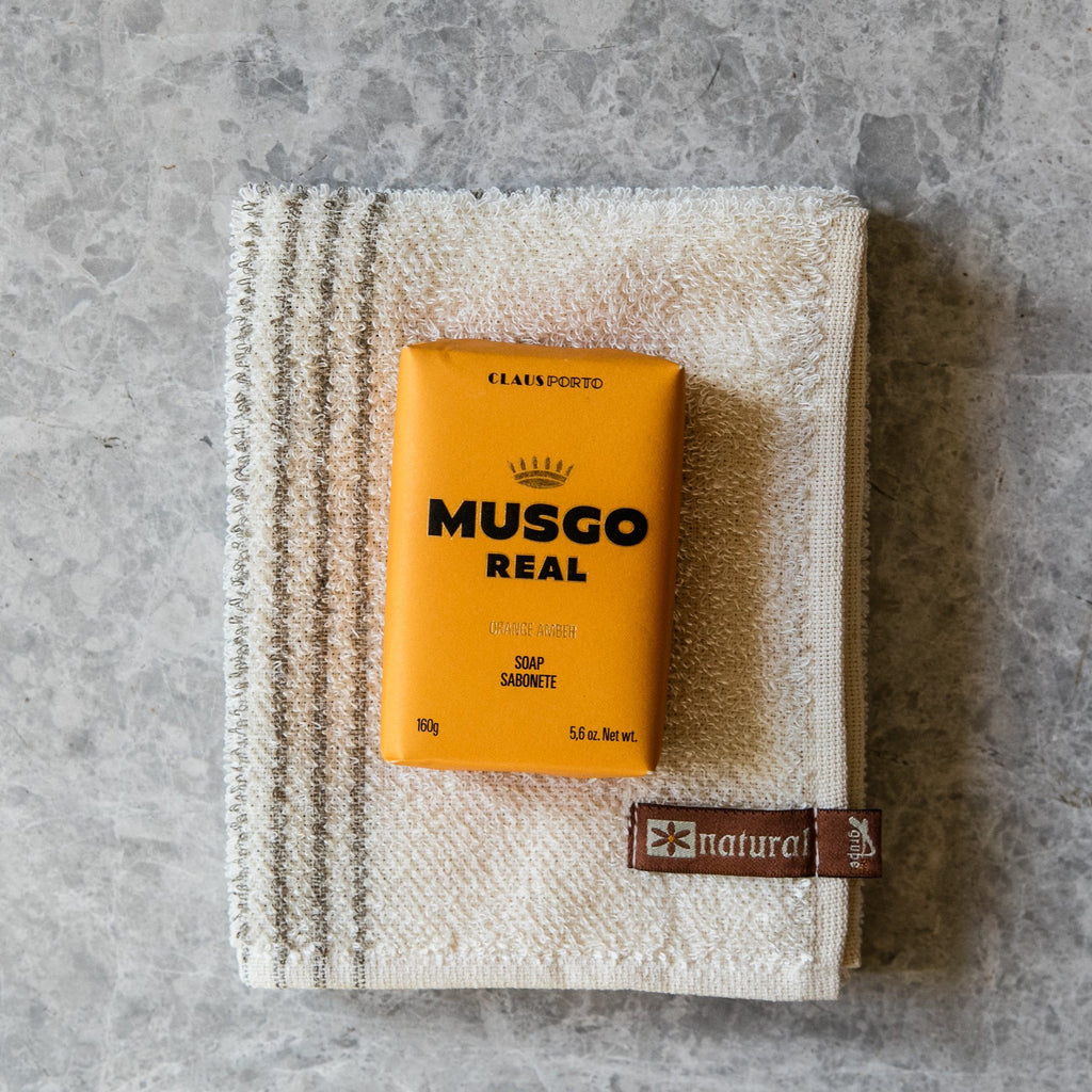 Musgo Real Men's Body Soap, Orange Amber