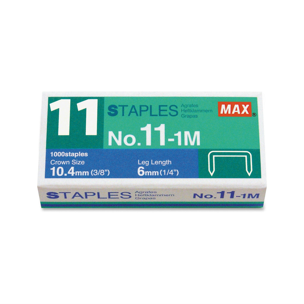 1000 Max No.11-1M Staples for HD-11FLK Vaimo 11 Staples Max