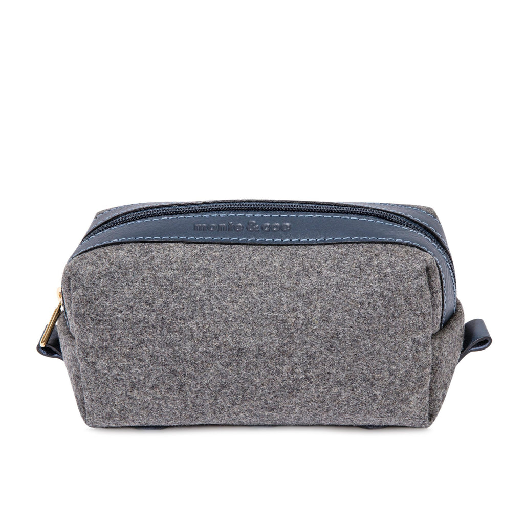 monte & coe Wool Travel Kit Toiletry Bag monte & coe