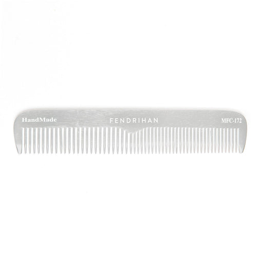 Fendrihan Metal Fine-Tooth Barber Comb