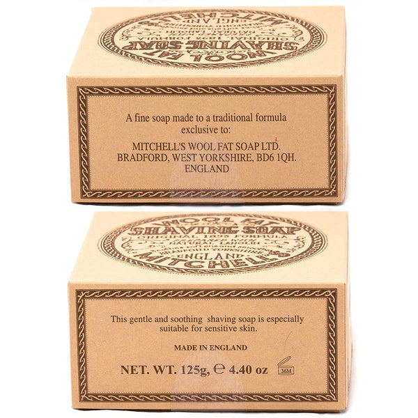 Mitchell's Wool Fat Luxury Shaving Soap in Ceramic Bowl - Fendrihan Canada - 3