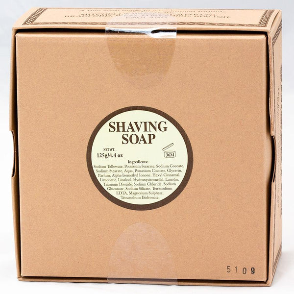 Mitchell's Wool Fat Luxury Shaving Soap in Ceramic Bowl - Fendrihan Canada - 5