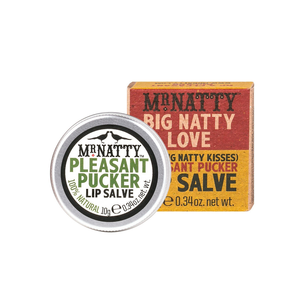 Mr. Natty Pleasant Pucker Lip Salve Lip Balms Mr. Natty