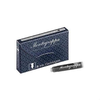 Montegrappa Fountain Pen Ink Cartridges, 8-Pack Ink Refill Montegrappa
