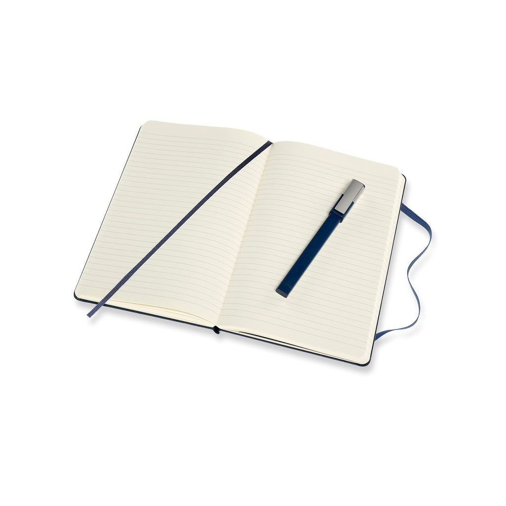 Moleskine 5 x 8 Hard Cover Notebook & Pen Set, Lined Notebook Moleskine