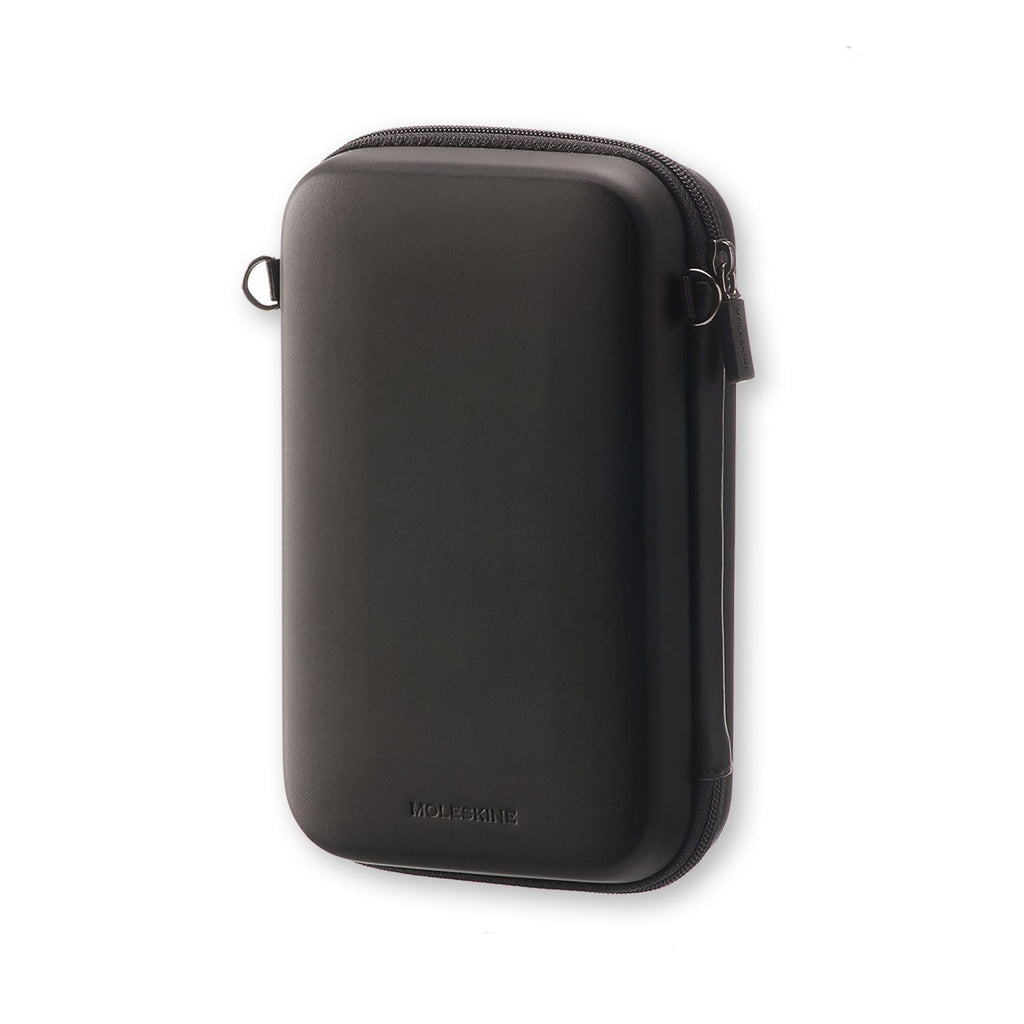 Moleskine Journey Hard Pouch, Black Travel Case Moleskine