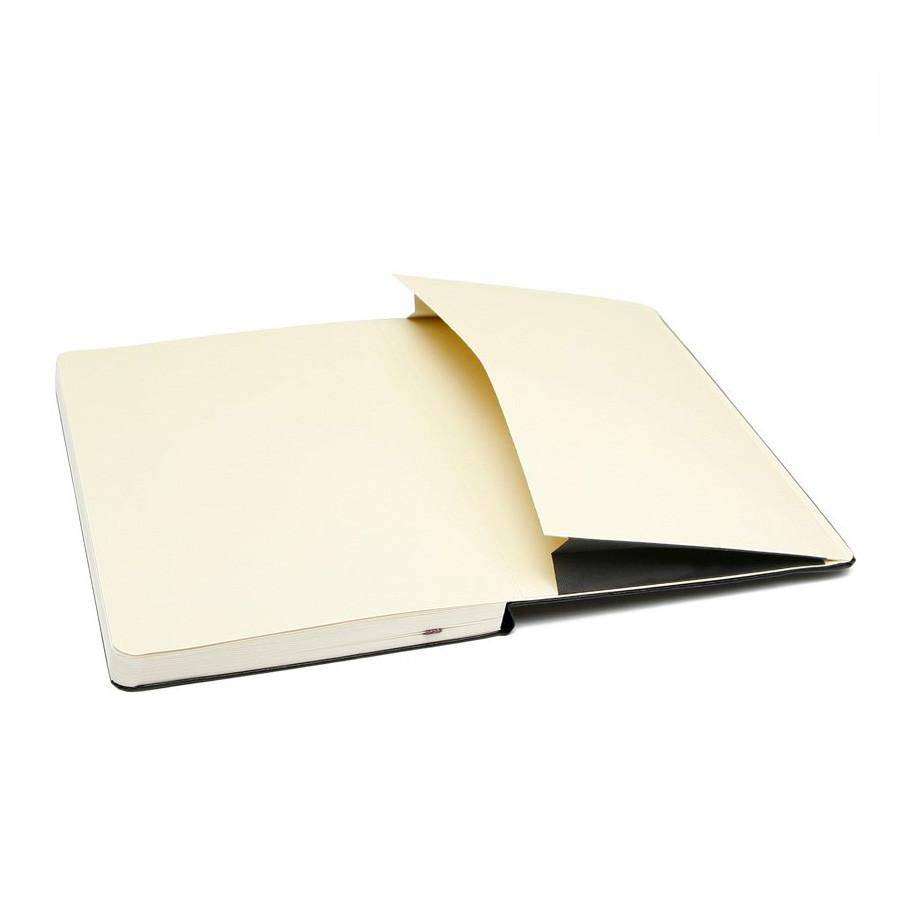 Moleskine 5 x 8 Hard Cover Notebook, Lined - Fendrihan Canada - 5
