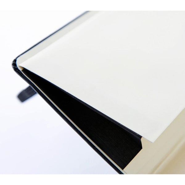 Moleskine 5 x 8 Soft Cover Notebook in Black, Lined - Fendrihan Canada - 3