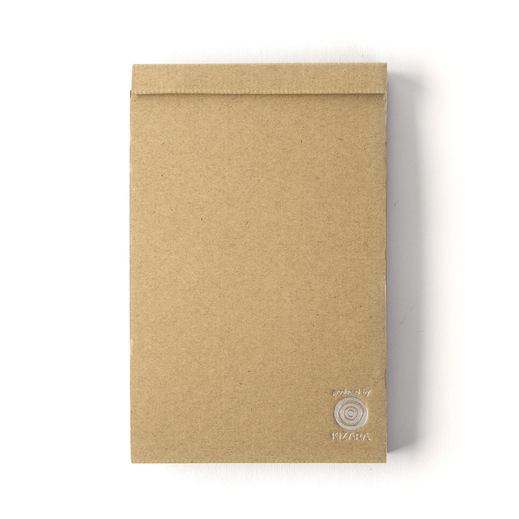 Kizara Wood Sheet Memo Pad Notebook Japanese Exclusives Medium