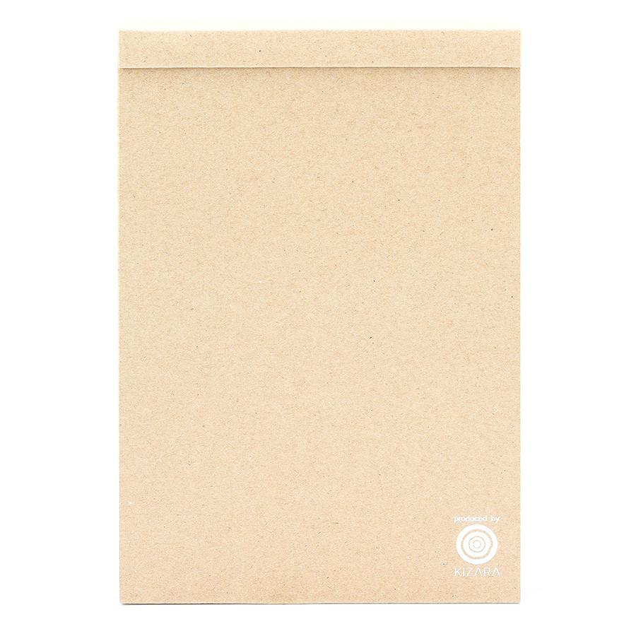 Kizara Wood Sheet Memo Pad Notebook Japanese Exclusives Large