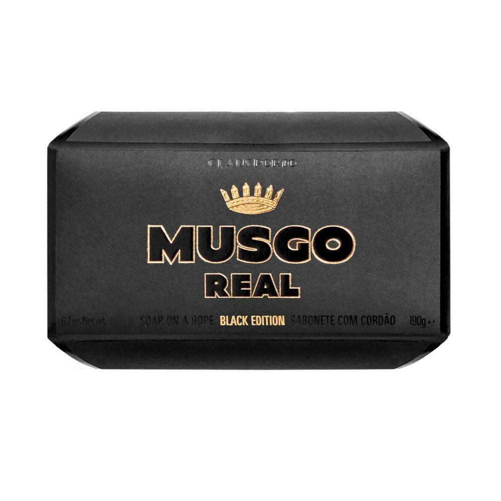 Musgo Real Soap on a Rope, Black Edition Body Soap Musgo Real