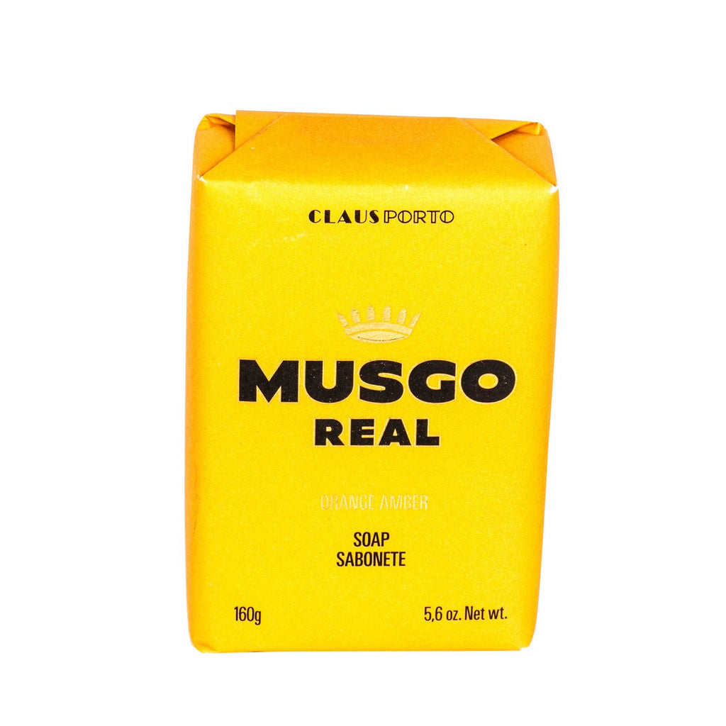 Musgo Real Men's Body Soap, Orange Amber - Fendrihan Canada - 1