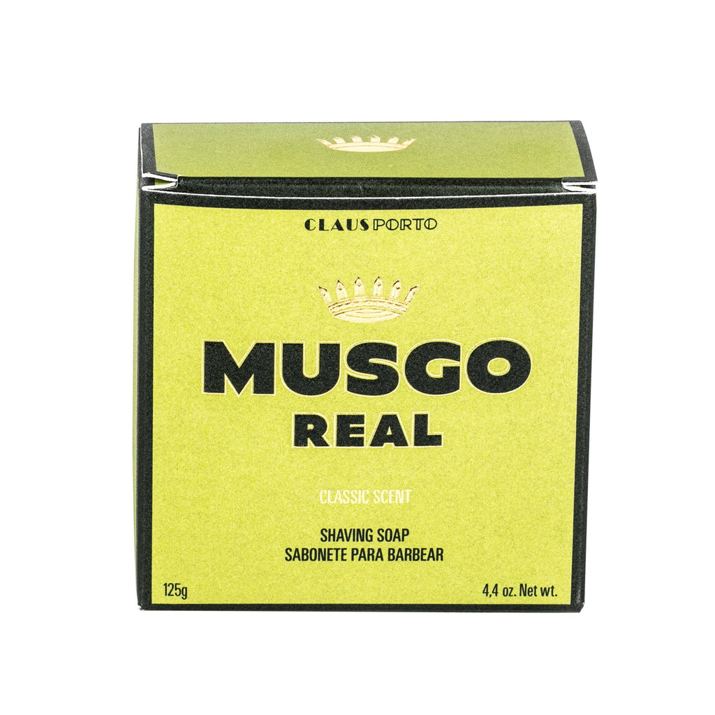 Musgo Real Men's Shave Soap, Classic Scent Shaving Soap Musgo Real