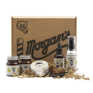 Morgan's Moustache & Beard Grooming Kit Beard and Moustache Grooming Morgan's Pomade Co