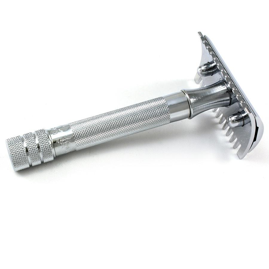Merkur 15C Classic Open-Comb Double-Edge Safety Razor Double Edge Safety Razor Merkur