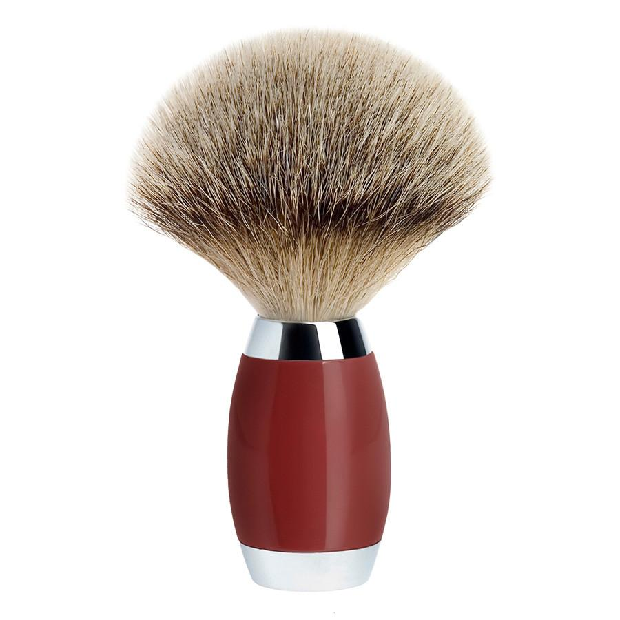 Muhle Edition No. 2 Silvertip Shaving Brush, Chinese Lacquer Handle Badger Bristles Shaving Brush Discontinued