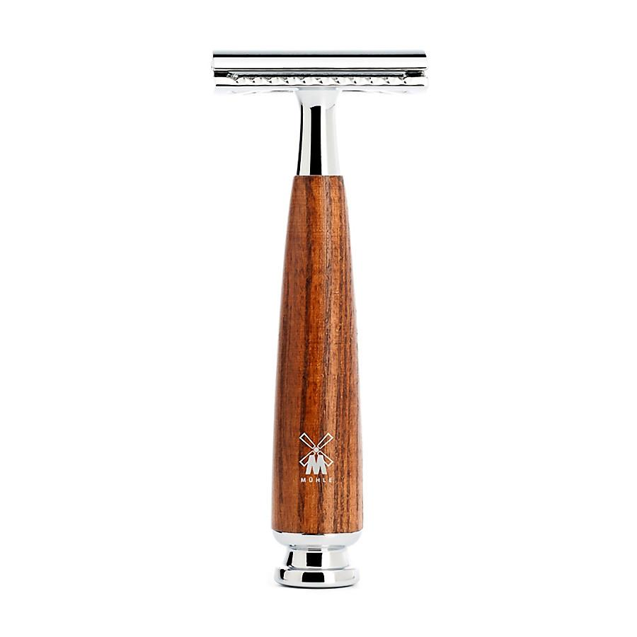 Muhle Rytmo Double-Edge Safety Razor, Ash Wood Handle Double Edge Safety Razor Discontinued