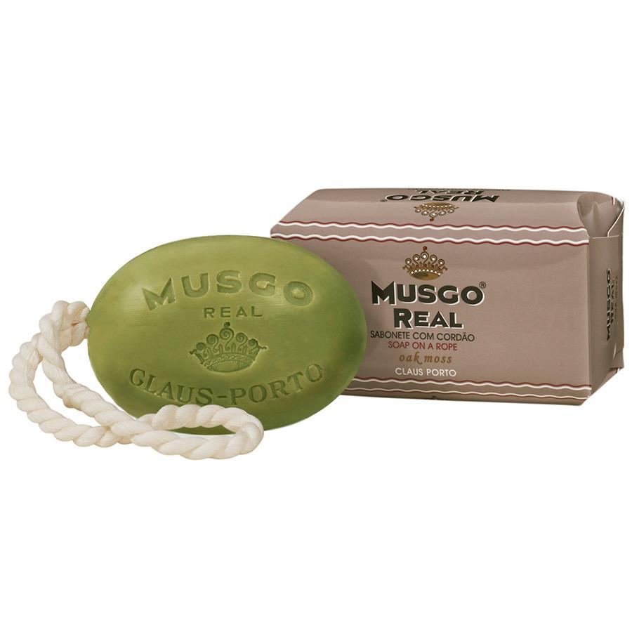 Musgo Real Soap on a Rope, Oak Moss Body Soap Musgo Real