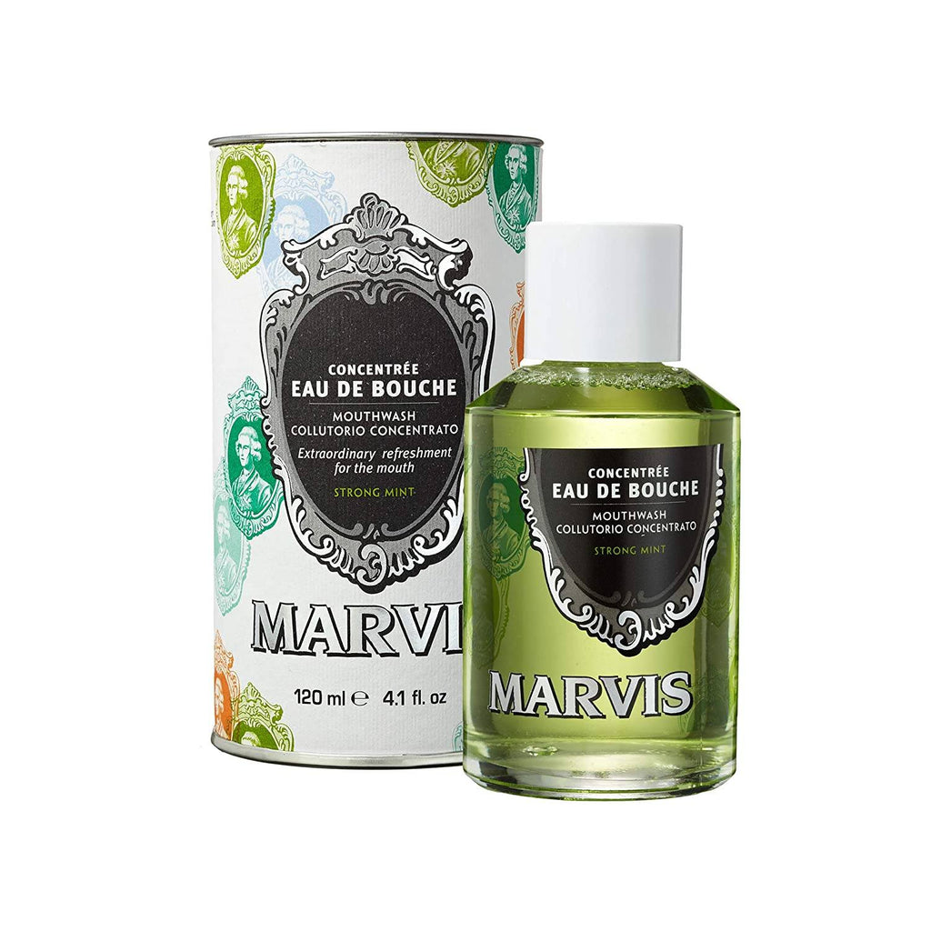 Marvis Concentrated Strong Mint Mouthwash Mouthwash Marvis