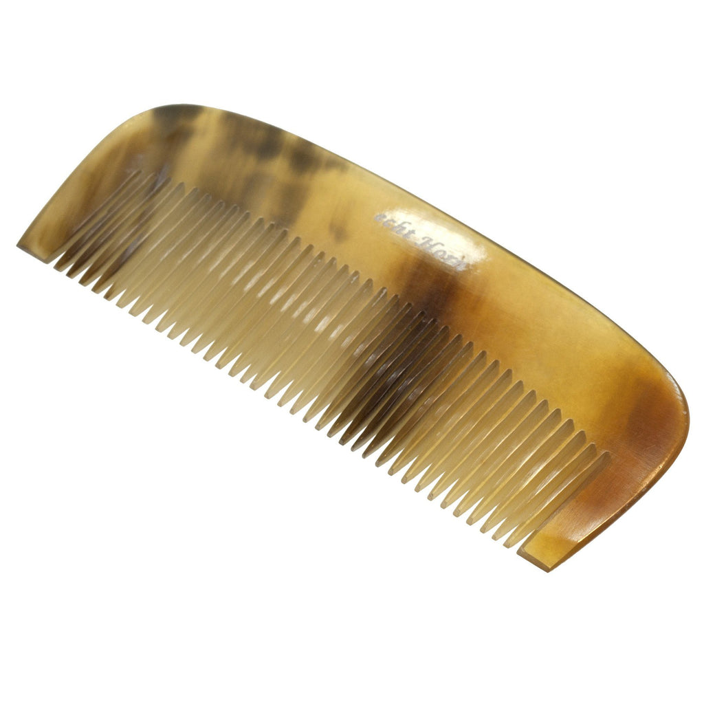 Natural Horn Beard and Moustache Comb Beard Comb Fendrihan