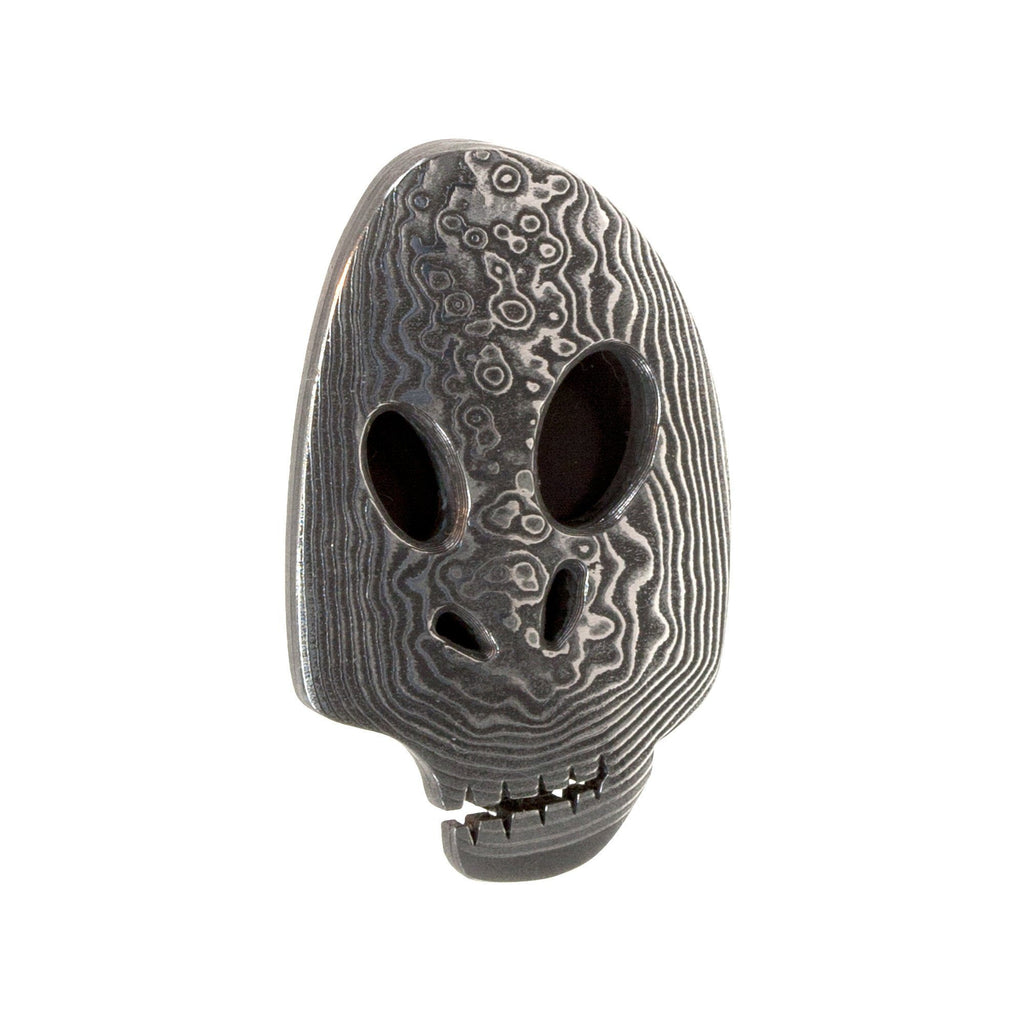 Damascus Skull Money Clip - Fendrihan Canada - 1