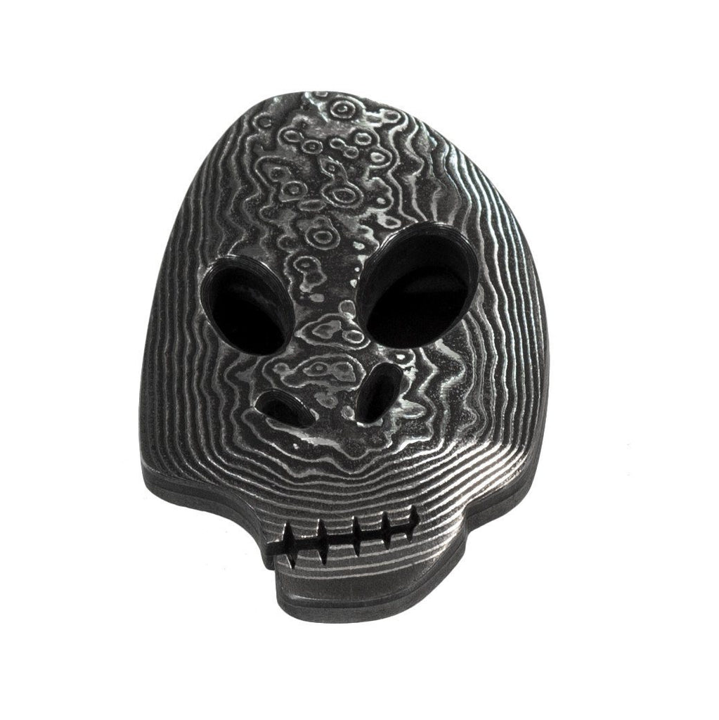 Damascus Skull Money Clip - Fendrihan Canada - 2