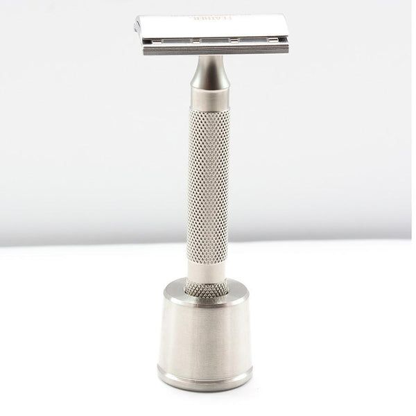 Fendrihan Brushed Stainless Steel Base Stand for Safety Razor - Fendrihan Canada - 2