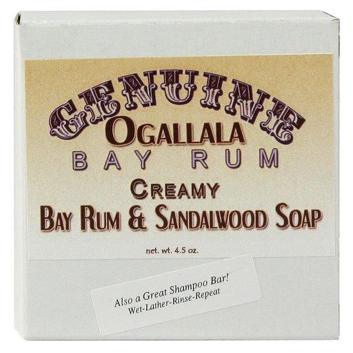 Ogallala Creamy Bay Rum and Sandalwood Soap and Shampoo Bar - Fendrihan Canada
