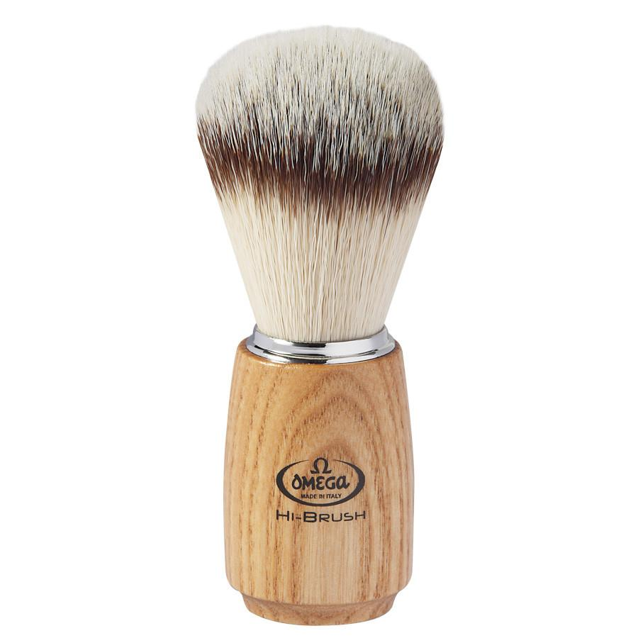 Omega Imitation Badger Synthetic Shaving Brush Synthetic Bristles Shaving Brush Omega