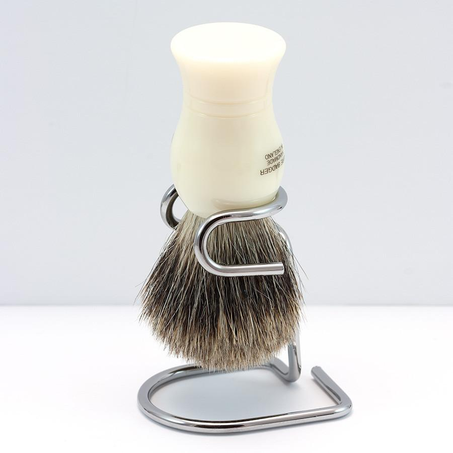 Omega Metal Shaving Brush Stand - Fendrihan Canada - 3