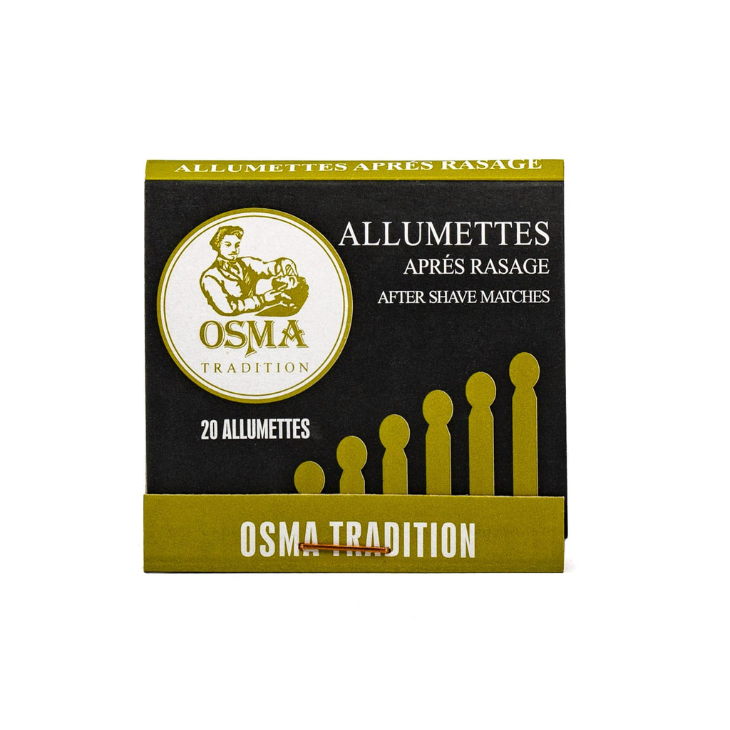 Osma Tradition Alum Matchsticks, 1 book Aftershave Remedies Laboratoires Osma