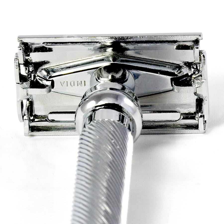 Parker 99R Barberpole Double-Edge Razor, Butterfly Opening Double Edge Safety Razor Parker Razors