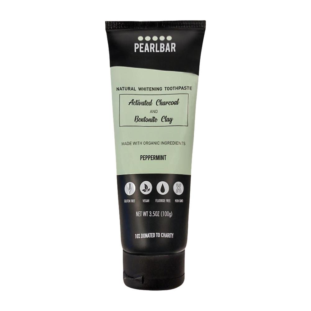 PearlBar Natural Whitening Charcoal Toothpaste Toothpaste PearlBar 3.5 oz (100 g)