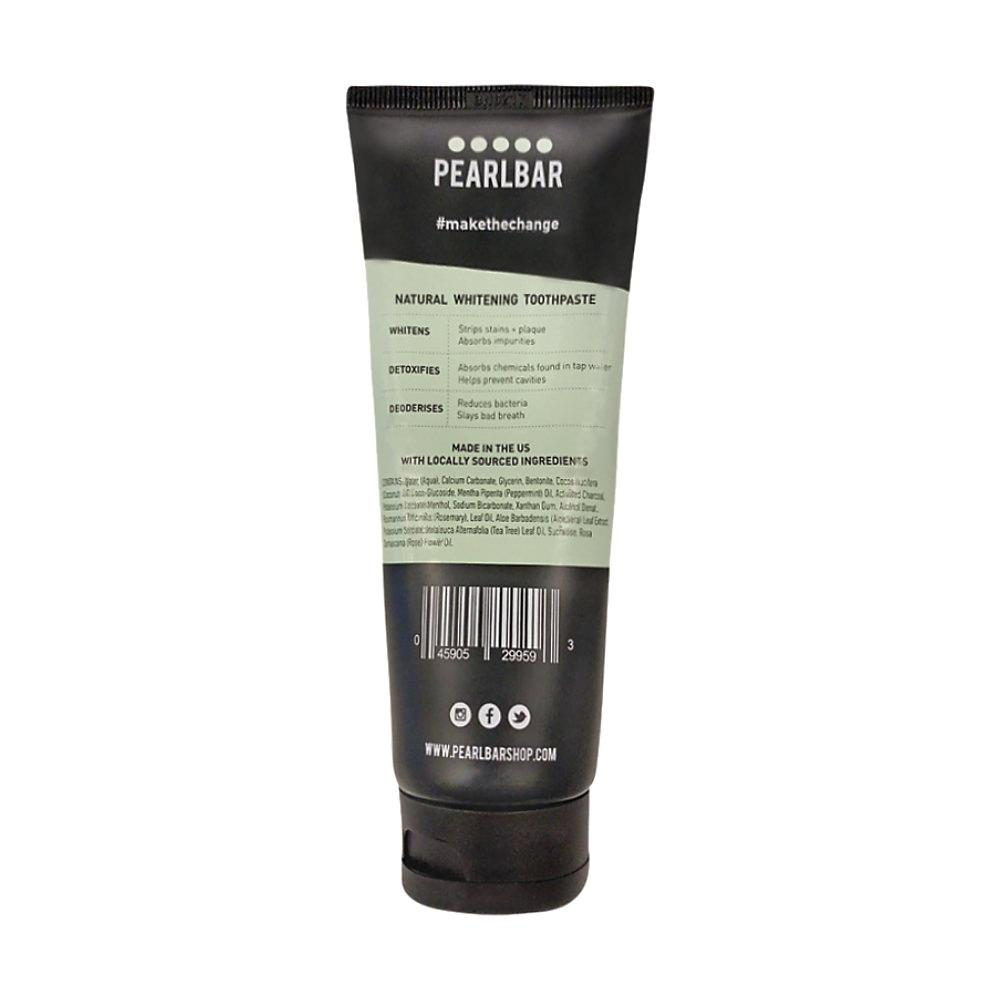 PearlBar Natural Whitening Charcoal Toothpaste Toothpaste PearlBar