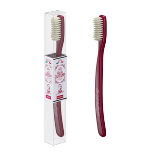 Pasta del Capitano 1905 1960 Replay Toothbrush – Medium Toothbrush Pasta del Capitano Red