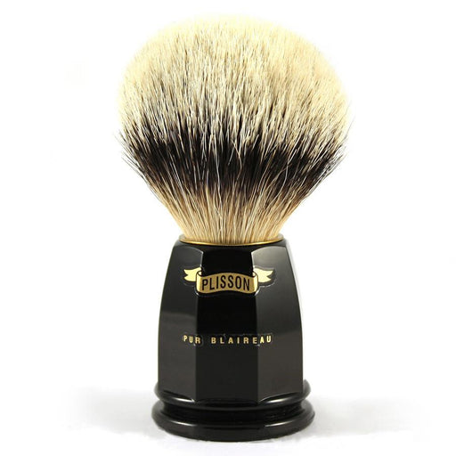 Plisson European White Badger Shaving Brush, Size 12 - Fendrihan Canada