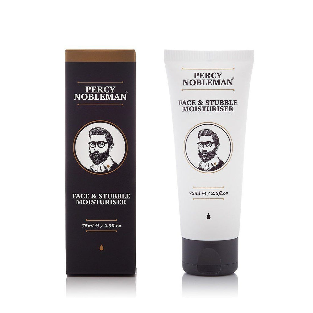 Percy Nobleman Face & Stubble Moisturiser Face Moisturizer and Toner Percy Nobleman