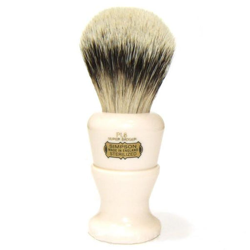Simpsons Polo 8 Super Badger Shaving Brush - Fendrihan Canada