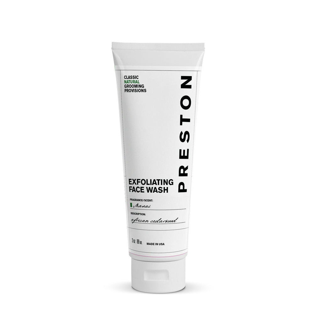 Preston Exfoliating Face Wash Face Wash Preston Masai
