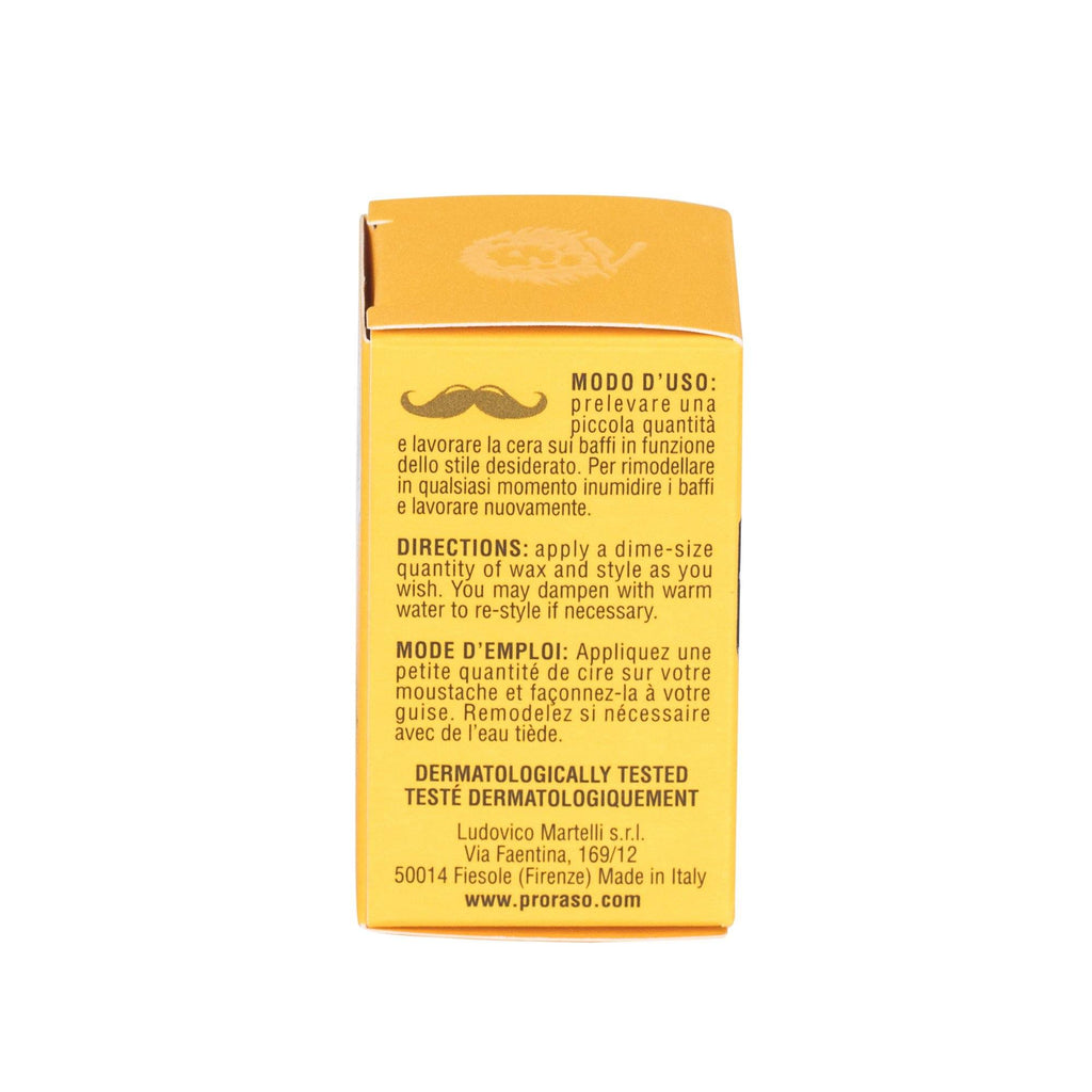 Proraso Moustache Wax, Wood and Spice Moustache Wax Proraso