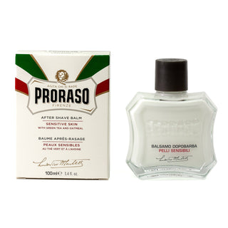 Proraso White Liquid Cream After Shave Balm for Sensitive Skin Aftershave Proraso