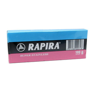 100 Rapira Super Stainless Double Edge Razor Blades Razor Blades Other