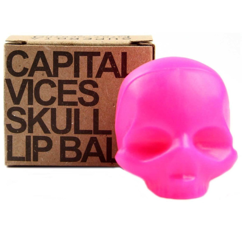 Rebels Refinery Capital Vices Superbia Mint Lip Balm, Neon Pink Lip Balms Rebels Refinery