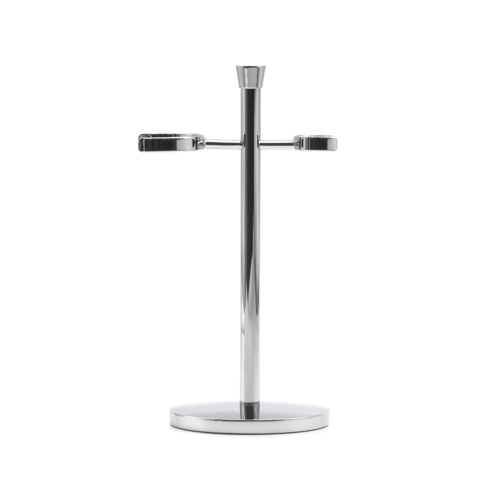 Chrome Plated Stand for Safety Razor & Shaving Brush, Made in Germany - Fendrihan Canada